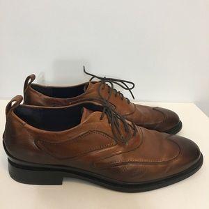 Cole Haan Men's Oxford British Tan Dress Shoes 11m
